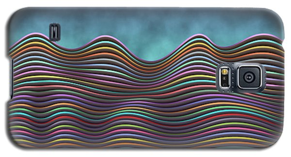 The Rolling Hills Of Subtle Differences Galaxy S5 Case