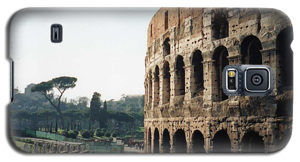 Galaxy S5 Case featuring the photograph The Roman Colosseum by Marna Edwards Flavell