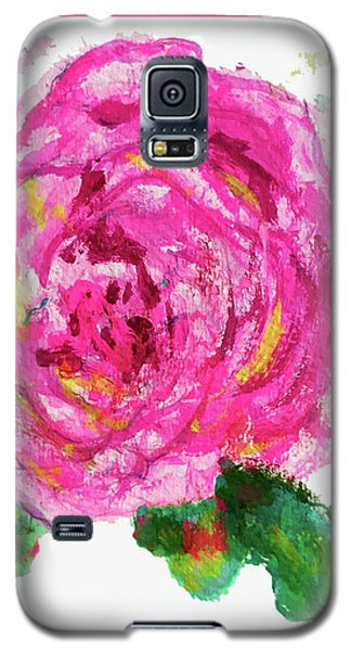 The Rose Galaxy S5 Case by Beth Saffer