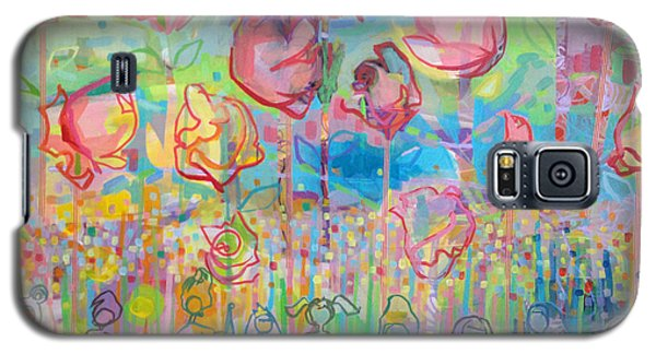 The Rose Garden, Love Wins Galaxy S5 Case by Kimberly Santini