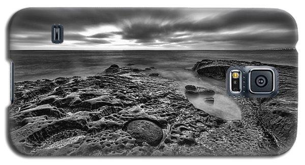 The Rugged California Coast - Black And White Galaxy S5 Case