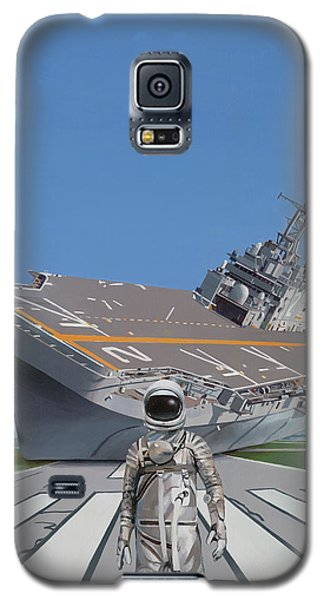 Galaxy S5 Case featuring the painting The Runway by Scott Listfield