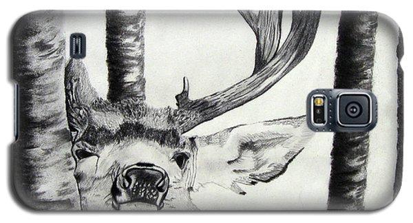 Galaxy S5 Case featuring the drawing The Rutt by Mayhem Mediums