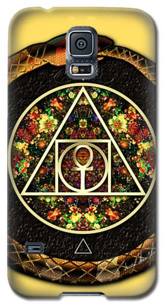 The Sacred Alchemy Of Life Galaxy S5 Case by Iowan Stone-Flowers