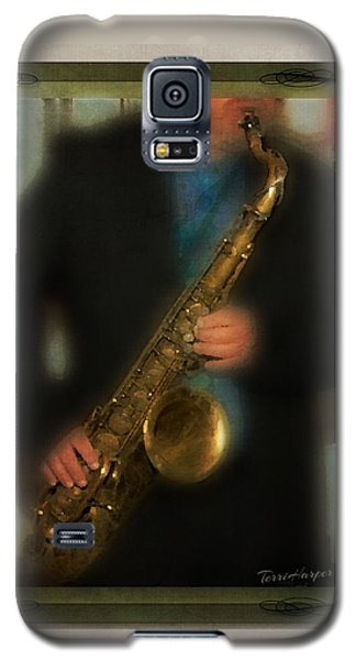The Sax Player Galaxy S5 Case