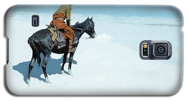 The Scout Friends Or Foes Galaxy S5 Case by Frederic Remington