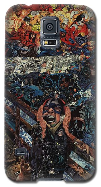 The Scream After Edvard Munch Galaxy S5 Case
