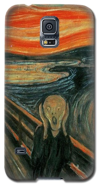 The Scream  Galaxy S5 Case