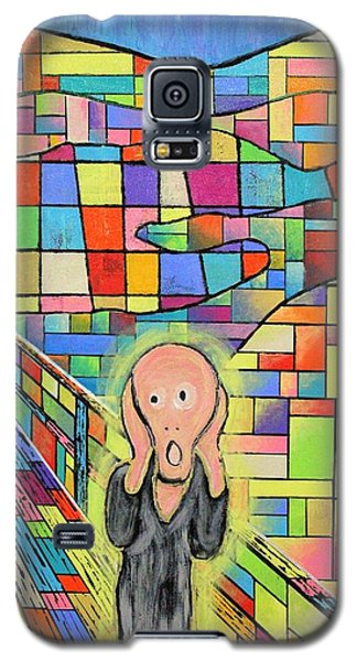 The Scream Jeremy Style Galaxy S5 Case