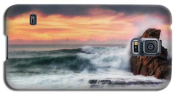 The Sea Against The Rock Galaxy S5 Case