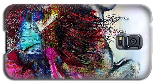Galaxy S5 Case featuring the digital art The Sea Horse Fairy by Kari Nanstad