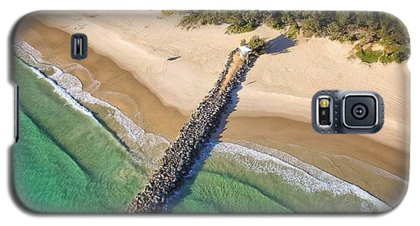 The Sea Wall Near Noosa Main Beach Galaxy S5 Case