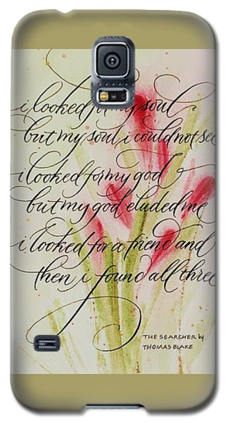 The Searcher By Thomas Blake Galaxy S5 Case