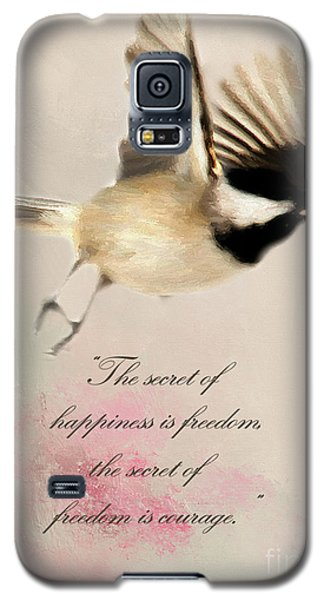 Galaxy S5 Case featuring the photograph The Secret by Darren Fisher