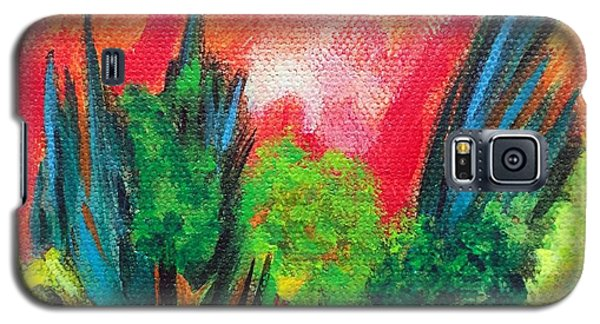Galaxy S5 Case featuring the painting The Secret Stream by Elizabeth Fontaine-Barr