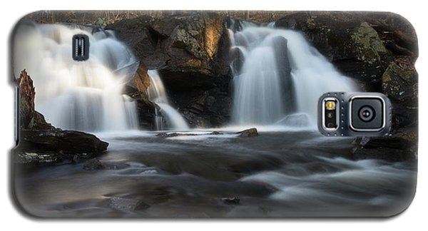 The Secret Waterfall In Golden Light Galaxy S5 Case