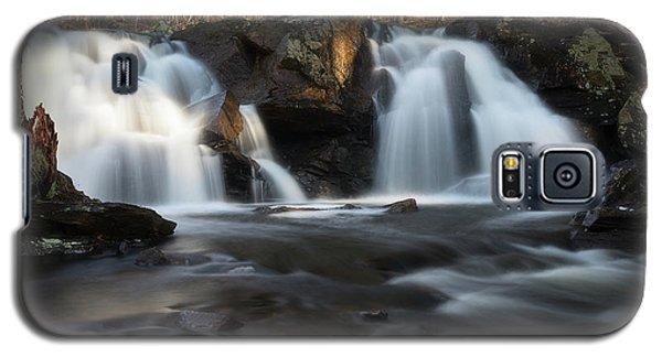 The Secret Waterfall In Golden Light Galaxy S5 Case