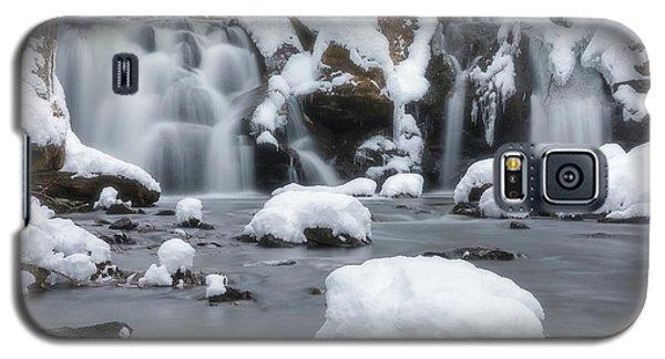 The Secret Waterfall In Winter 1 Galaxy S5 Case