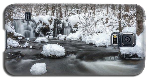 The Secret Waterfall In Winter 2 Galaxy S5 Case