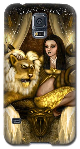 The Serpent Gateway Fantasy Art Galaxy S5 Case