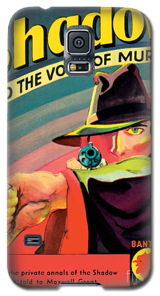 Galaxy S5 Case featuring the painting The Shadow by George Rozen