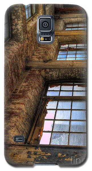 Galaxy S5 Case featuring the photograph The Shaft by David Bishop
