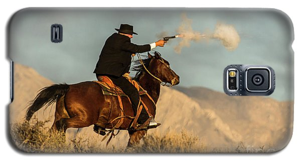 The Sharp Shooter Western Art By Kaylyn Franks Galaxy S5 Case