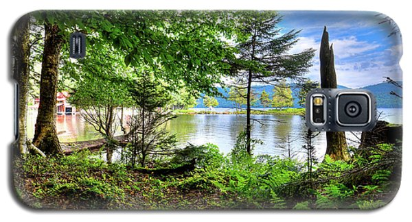 Galaxy S5 Case featuring the photograph The Shore At Covewood by David Patterson