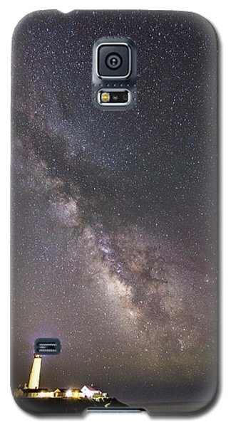 Galaxy S5 Case featuring the photograph The Shore Of Night by Alex Lapidus