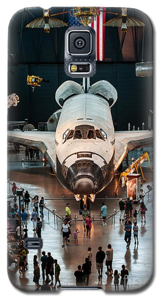 Galaxy S5 Case featuring the photograph The Shuttle by Jim Moore