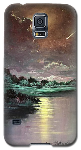 The Silence Of A Falling Star Galaxy S5 Case