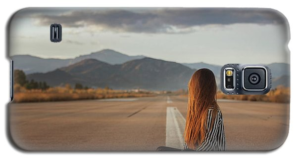 The Silence Of Solitude Galaxy S5 Case