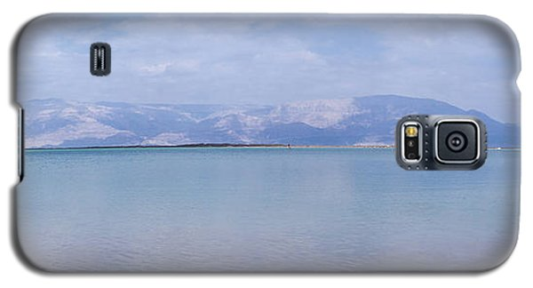 Galaxy S5 Case featuring the photograph The Silence Of The Dead Sea by Yoel Koskas