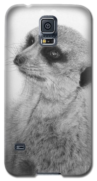 Galaxy S5 Case featuring the painting The Silent Sentry by Jennifer Watson