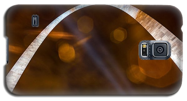 The Silver Gateway Arch Galaxy S5 Case by Semmick Photo
