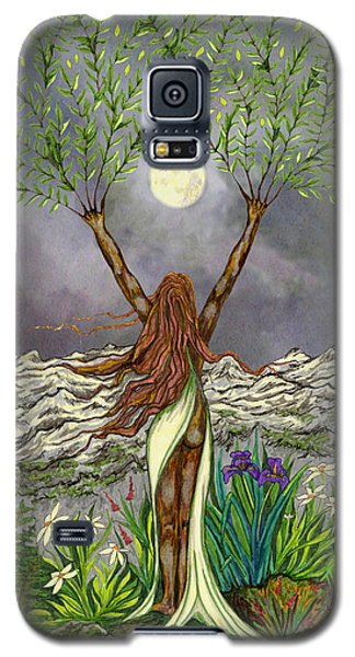 The Singing Girl Galaxy S5 Case