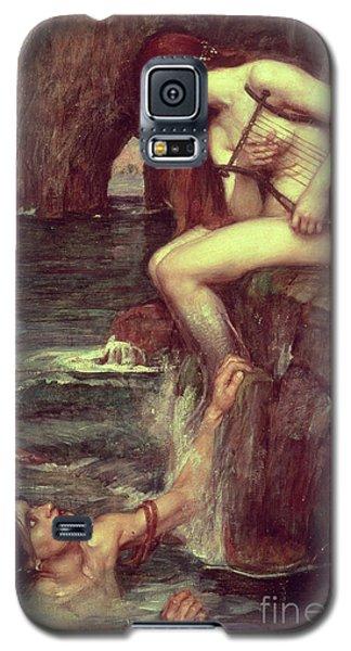 Mermaid Galaxy S5 Case - The Siren by John William Waterhouse