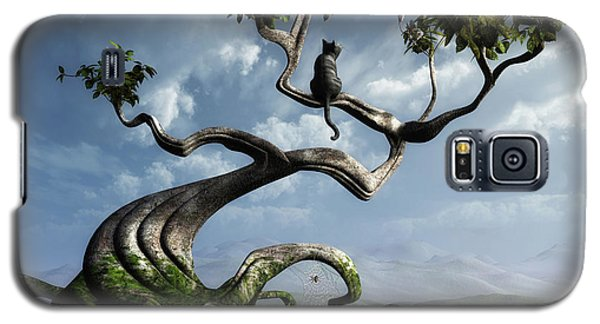 The Sky Galaxy S5 Case - The Sitting Tree by Cynthia Decker