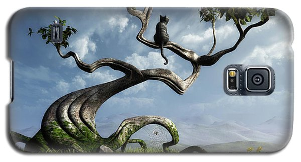 Butterfly Galaxy S5 Case - The Sitting Tree by Cynthia Decker