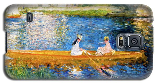 Renoir Boating On The Seine Galaxy S5 Case