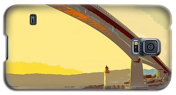 The Skye Bridge And Kyleakin Lighthouse  Galaxy S5 Case