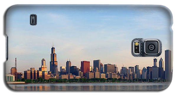The Skyline Of Chicago At Sunrise Galaxy S5 Case