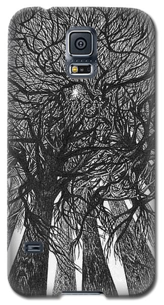 The Skyscrapers Of The Forest Galaxy S5 Case by Anna  Duyunova