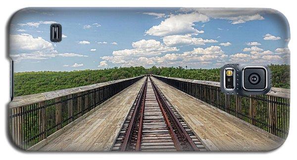 The Skywalk Galaxy S5 Case by Jim Lepard