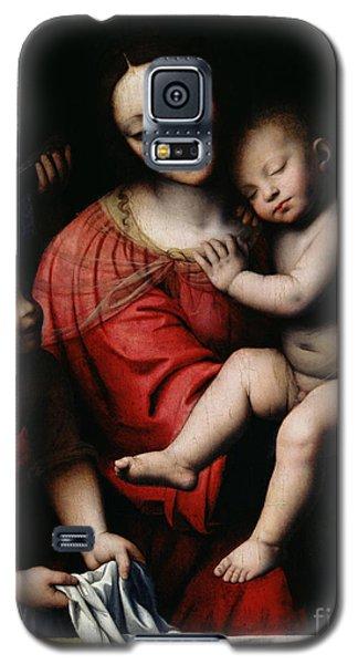 Religious Galaxy S5 Case - The Sleeping Christ by Bernardino Luini