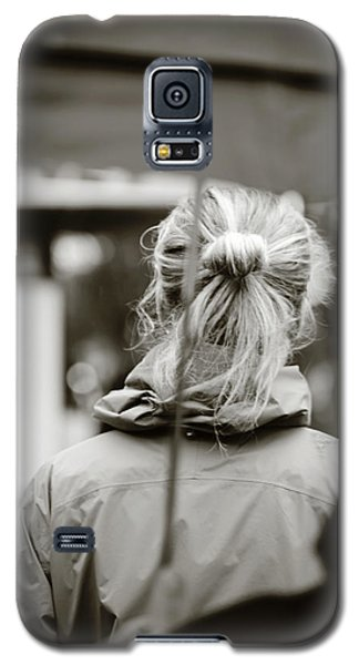Galaxy S5 Case featuring the photograph The Smell Of Your Hair by Empty Wall