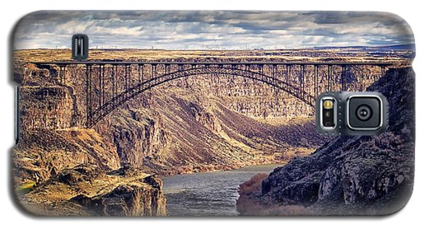 The Snake River At Twin Falls Idaho Galaxy S5 Case by Michael Rogers