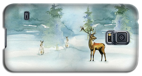 The Soft Arrival Of Winter Galaxy S5 Case by Colleen Taylor