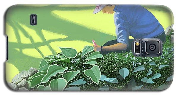 The Solace Of The Shade Garden Galaxy S5 Case