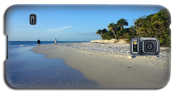 The South End Of Barefoot Beach In Naples, Fl Galaxy S5 Case